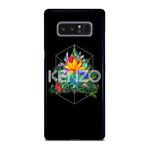 KENZO PARIS FLORAL-samsung-galaxy-note-8-case-cover
