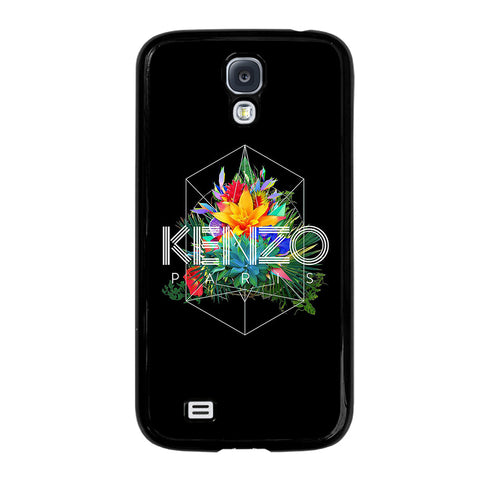 KENZO PARIS FLORAL-samsung-galaxy-S4-case-cover