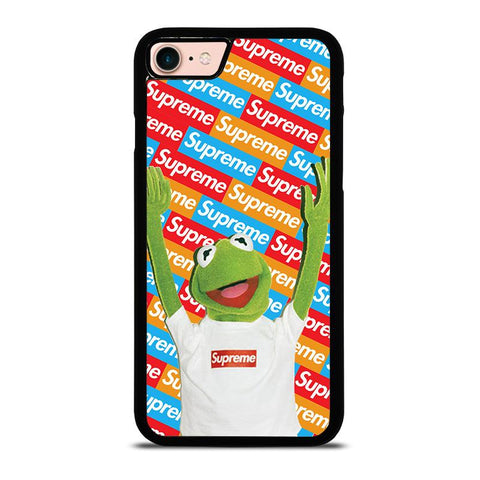 KERMIT FROG SESAME SUPREME-iphone-8-case-cover