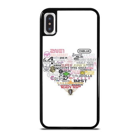 KPOP ALL BAND LOVE-iphone-x-case-cover