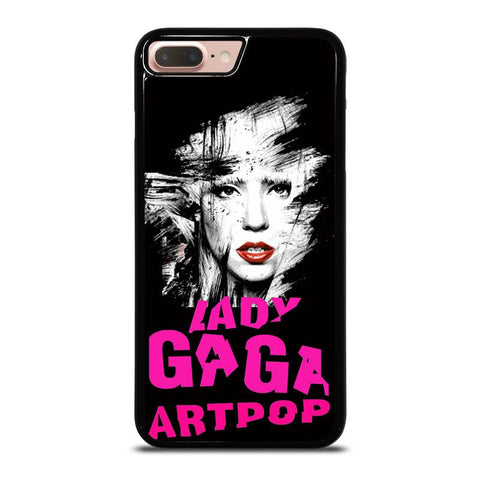 LADY-GAGA-PINK-iphone-8-plus-case-cover