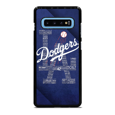 LA LOS ANGELES DODGERS Samsung Galaxy S4 S5 S6 S7 S8 S9 S10 S10e Edge Plus Note 4 5 8 9 Case Cover