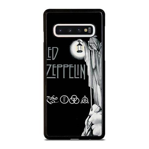 LED ZEPPELIN DARKNESS-samsung-galaxy-s10-case-cover
