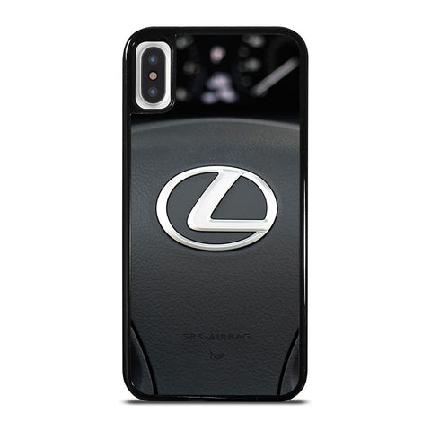 LEXUS STEERING WHEEL LOGO-iphone-x-case-cover