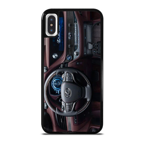 LEXUS-WHEEL-DASHBOARD-iphone-x-case-cover