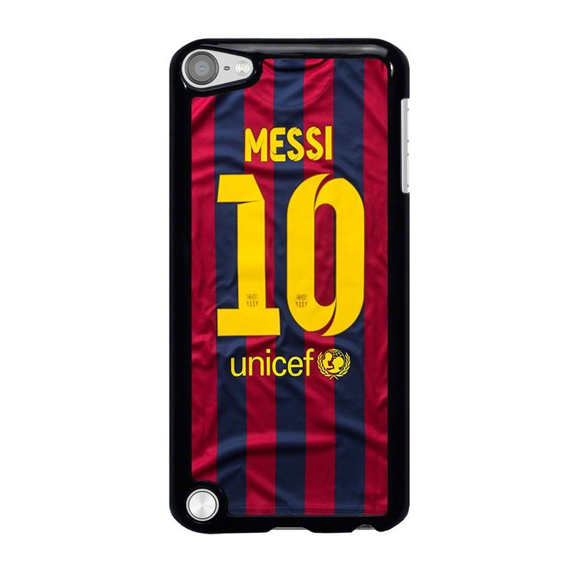 best service 13dd9 b7ac9 LIONEL MESSI 10 JERSEY BARCELONA iPod Touch 5 Case Cover - Favocase