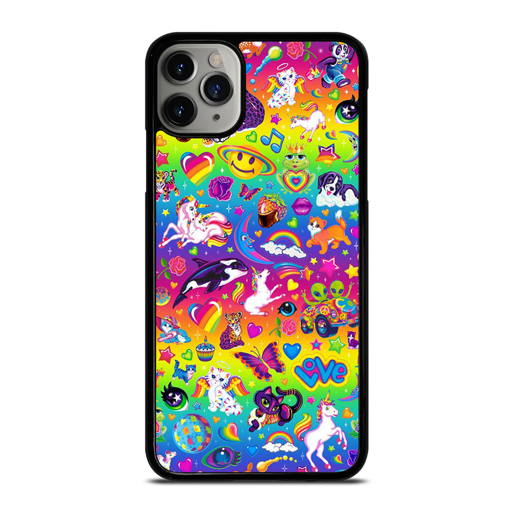 LISA FRANK SWAG CUTE iPhone 11 Pro Max Case - Best Custom Phone Cover Cool Personalized Design