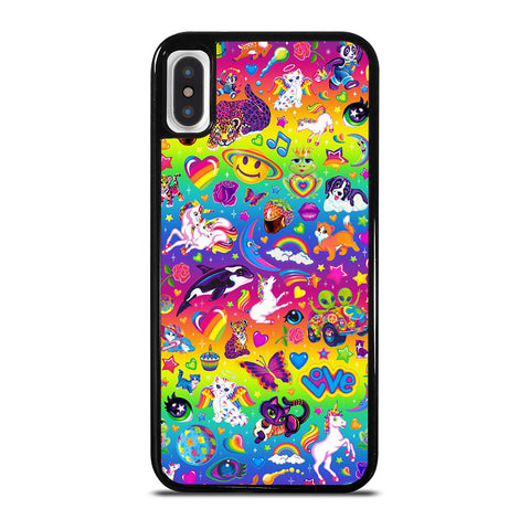 LISA FRANK SWAG CUTE-iphone-x-case-cover