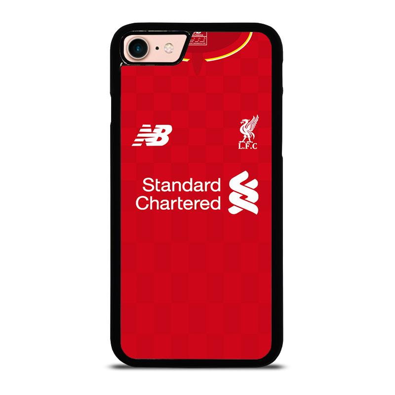 check out c8a44 fa290 LIVERPOOL FC JERSEY iPhone 8 Case Cover - Favocase