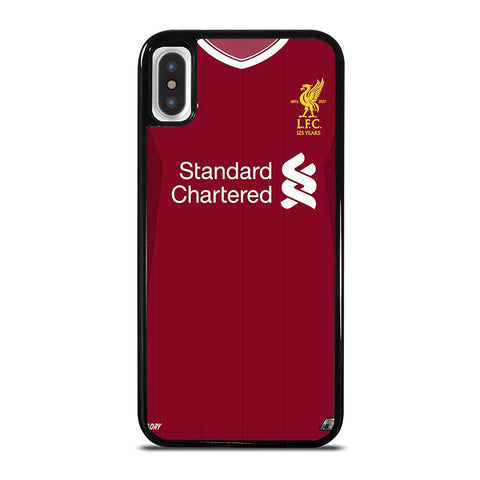 LIVERPOOL FOOTBALL JERSEY KIT iPhone X / XS Case - Best Custom Phone Cover Cool Personalized Design