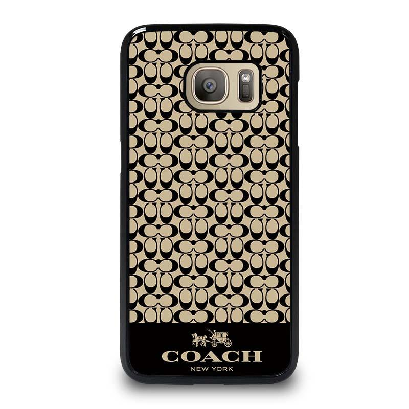 low priced eee59 f82f4 LOGO COACH NEW YORK Samsung Galaxy S7 Case Cover - Favocase