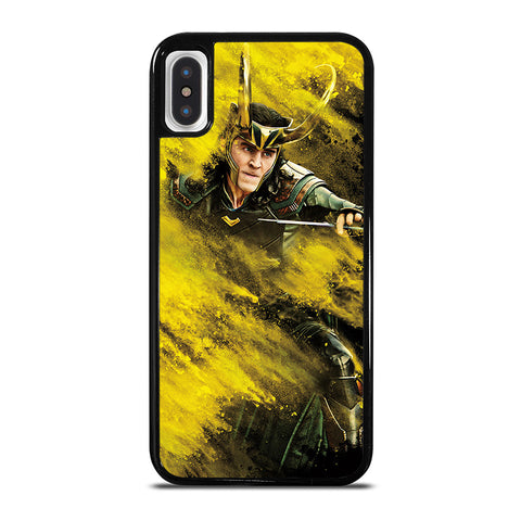 LOKI THE AVENGERS iPhone X / XS Case - Best Custom Phone Cover Cool Personalized Design