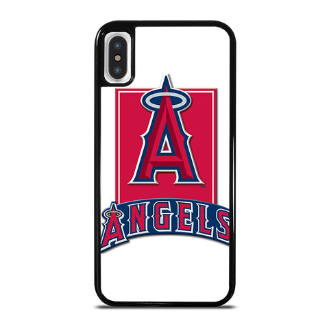 LOS ANGELES ANGELS LOGO iPhone X / XS Case - Best Custom Phone Cover Cool Personalized Design