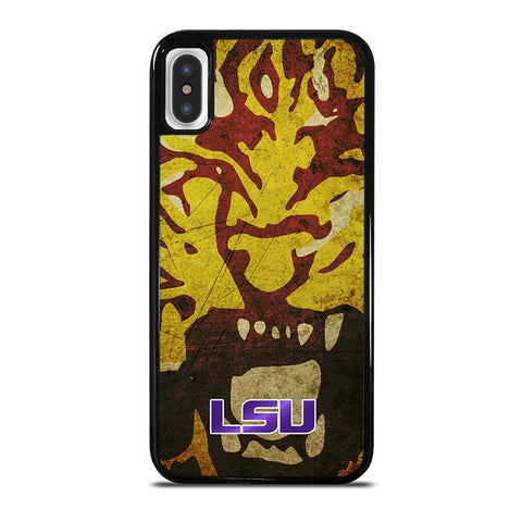 LSU TIGERS FOOTBALL-iphone-x-case-cover
