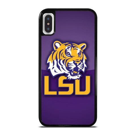 LSU TIGERS ICON-iphone-x-case-cover