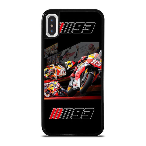 MARC MARQUEZ 93 MOTO GP-iphone-x-case-cover