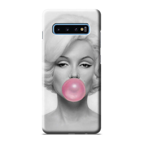 MARILYN MONROE PINK BUBBLEGUM Samsung Galaxy S6 S7 S8 S9 S10 S10e Edge Plus Note 8 9 10 10+ 3D Case Cover