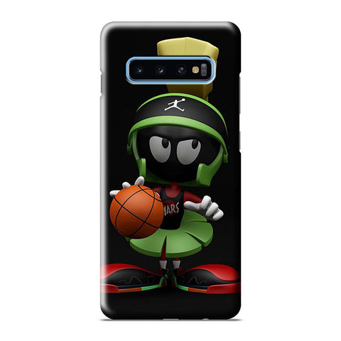 MARVIN THE MARTIAN BASKETBALL Samsung Galaxy S6 S7 S8 S9 S10 S10e Edge Plus Note 8 9 10 10+ 3D Case Cover