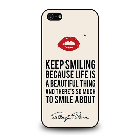 MARYLIN-MONROE-QUOTES-iphone-5-5s-case-cover
