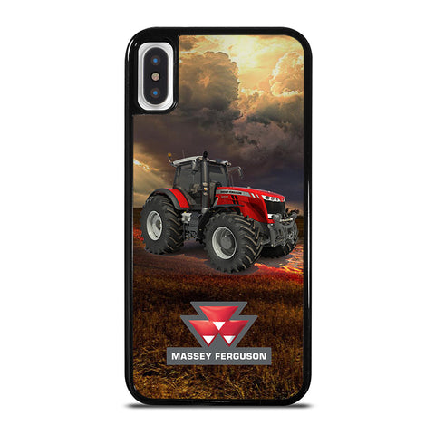 MASSEY FERGUSON TRACTORS iPhone X / XS Case - Best Custom Phone Cover Cool Personalized Design