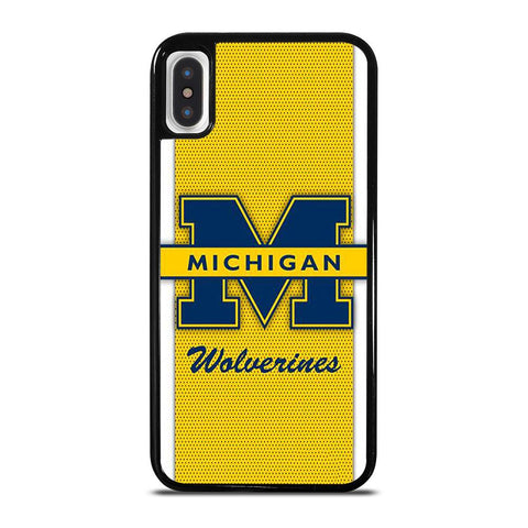 MICHIGAN WOLVERINES 2-iphone-x-case-cover