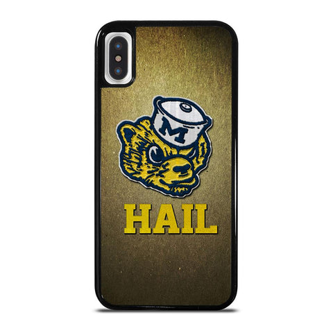 MICHIGAN WOLVERINES MASCOT-iphone-x-case-cover