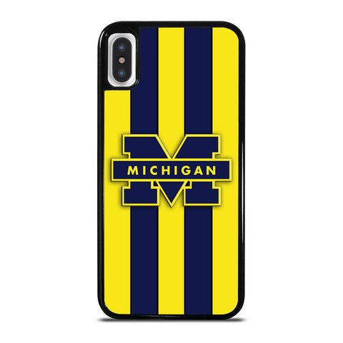 MICHIGAN WOLVERINES SYMBOL-iphone-x-case-cover