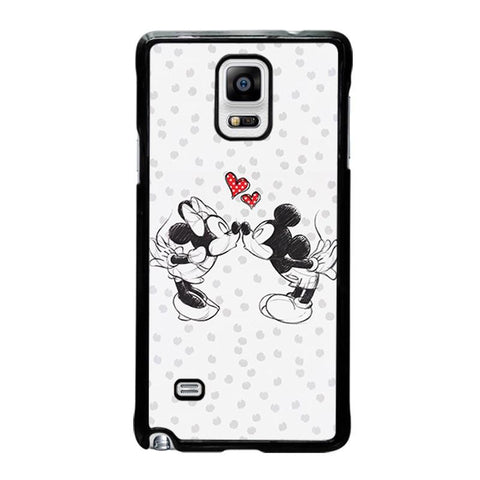 MICKEY-AND-MINIE-MOUSE-KISSING-Disney-samsung-galaxy-note-4-case-cover