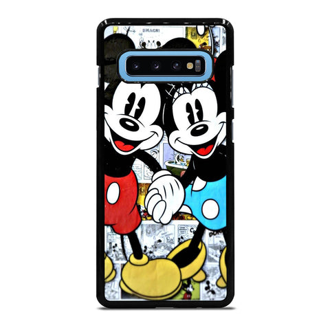 MICKEY AND MINNIE MOUSE DISNEY COMIC Samsung Galaxy S4 S5 S6 S7 S8 S9 S10 S10e Edge Plus Note 4 5 8 9 Case Cover