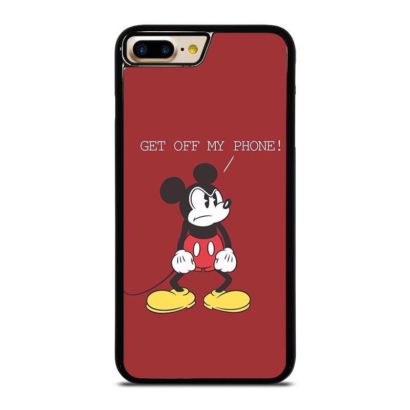 competitive price e1729 8e4b8 MICKEY MOUSE GET OFF MY PHONE iPhone 7 Plus Case Cover - Favocase