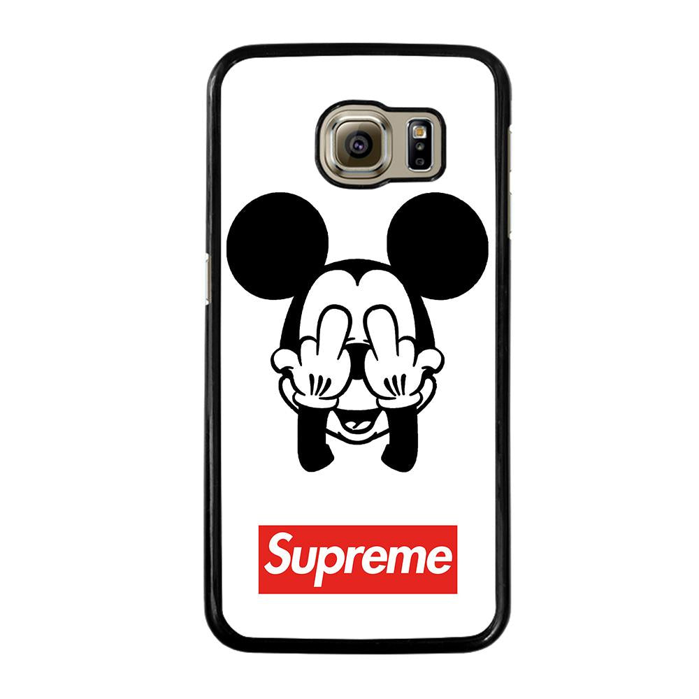 low priced 58854 0cfa9 MICKEY MOUSE SUPREME Samsung Galaxy S6 Case Cover - Favocase