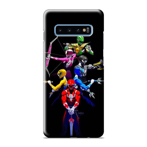 MIGHTY MORPHIN POWER RANGERS Samsung Galaxy S6 S7 S8 S9 S10 S10e Edge Plus Note 8 9 10 10+ 3D Case Cover