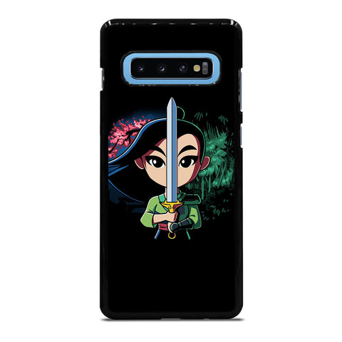 MULAN SWORD DISNEY Samsung Galaxy S4 S5 S6 S7 S8 S9 S10 S10e Edge Plus Note 4 5 8 9 Case Cover