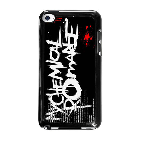 MY-CHEMICAL-ROMANCE-LYRIC-ipod-touch-4-case-cover