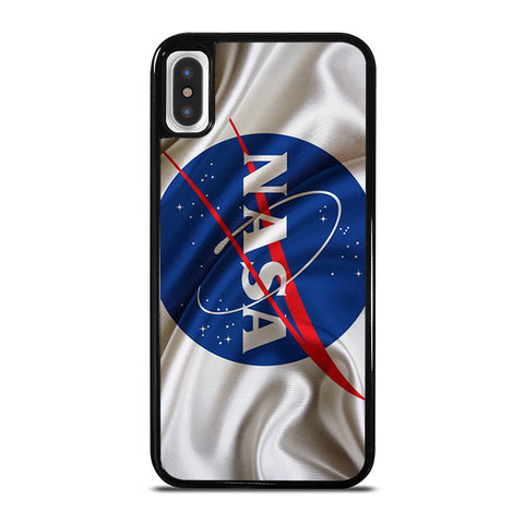 NASA LOGO FLAG iPhone X / XS Case - Best Custom Phone Cover Cool Personalized Design