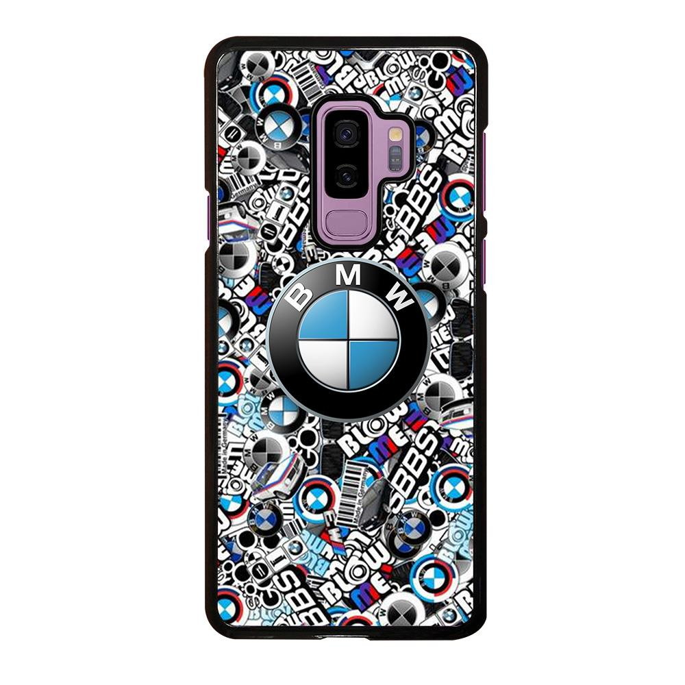 reputable site bb879 13428 NEW BMW STICKER BOMB Samsung Galaxy S9 Plus Case Cover - Favocase