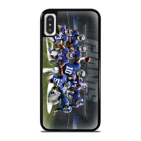 NEW YORK GIANTS TEAM-iphone-x-case-cover