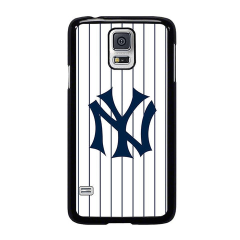 NEW YORK YANKEES JESEY LOGO-samsung-galaxy-s5-case-cover