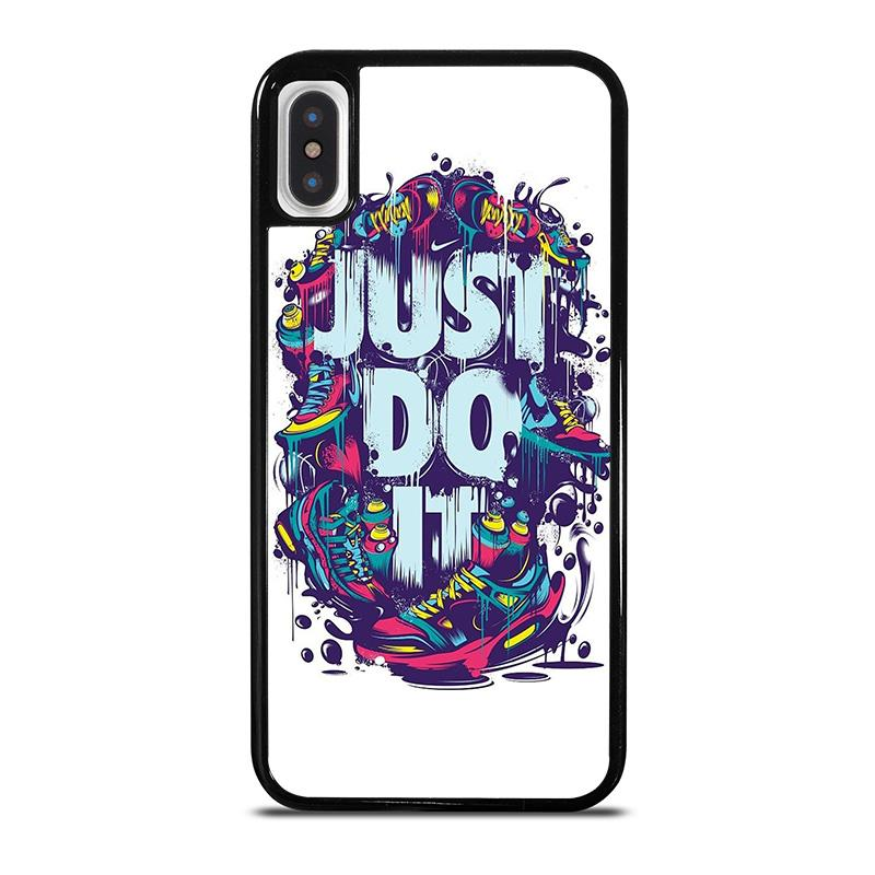 sports shoes adae2 76452 NIKE JUST DO IT iPhone X / XS Case Cover - Favocase