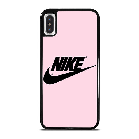 NIKE PINK LOGO iPhone X / XS Case - Best Custom Phone Cover Cool Personalized Design