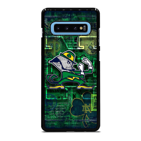NOTRE DAME FIGHTING LOGO Samsung Galaxy S4 S5 S6 S7 S8 S9 S10 S10e Edge Plus Note 4 5 8 9 Case Cover