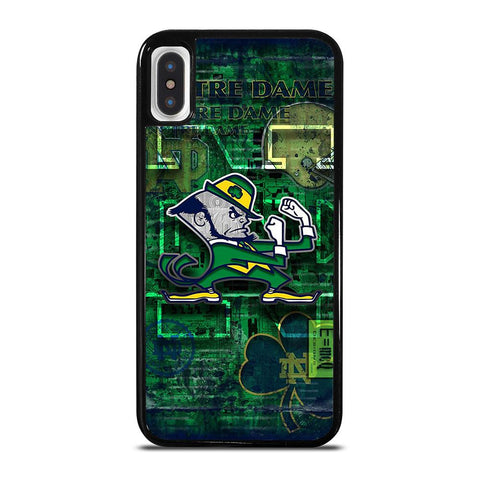 NOTRE DAME FIGHTING LOGO-iphone-x-case-cover