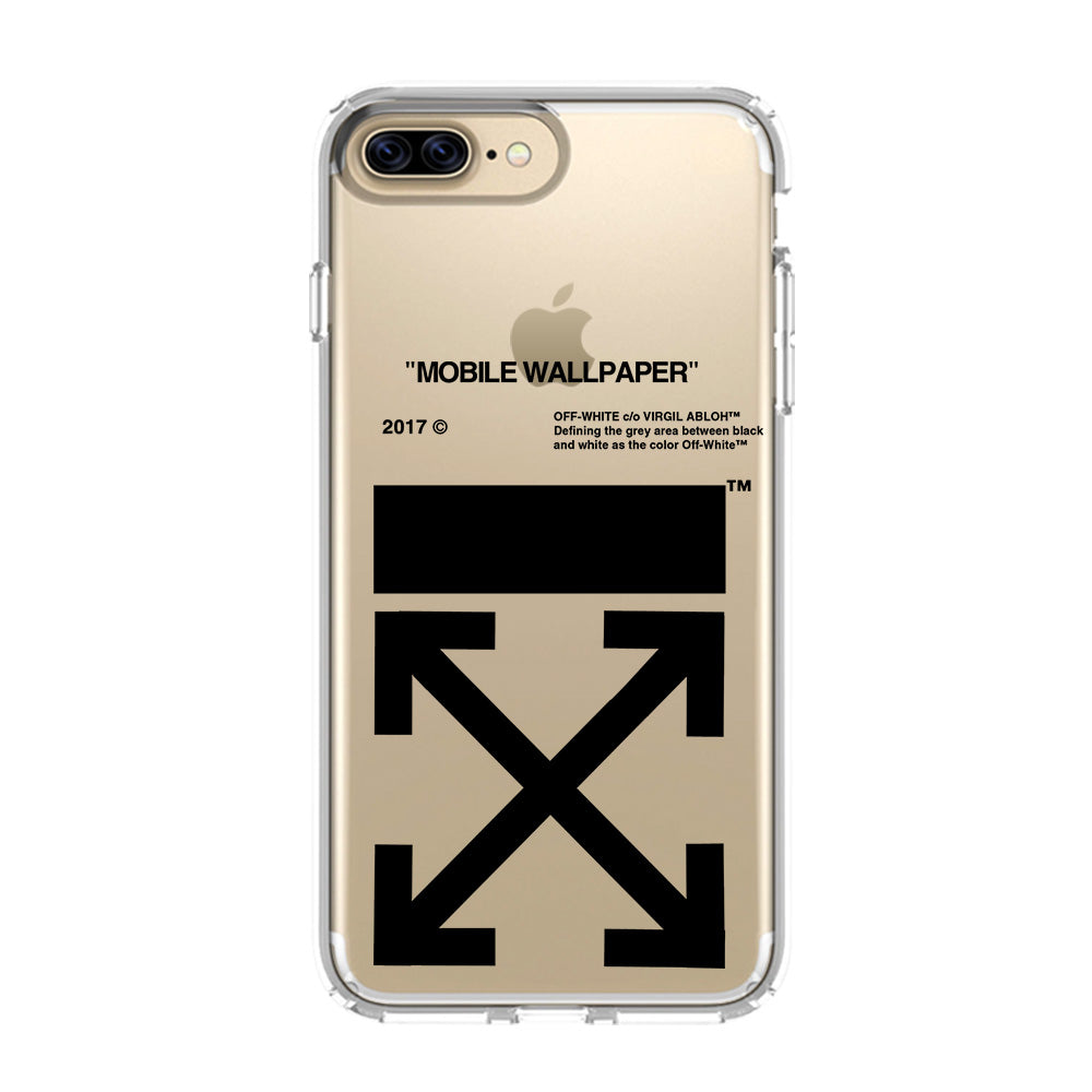 check-out ad235 1e558 OFF WHITE iPhone 5/5S/SE 6/6S 7 8 Plus X/XS Max XR Clear Case Transparent -  Favocase