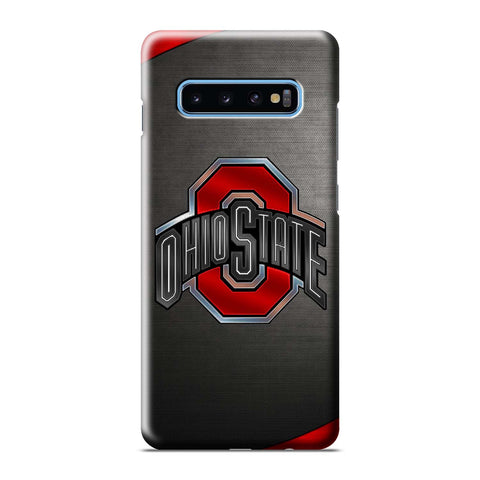 OHIO STATE FOOTBALL LOGO Samsung Galaxy S6 S7 S8 S9 S10 S10e Edge Plus Note 8 9 10 10+ 3D Case Cover