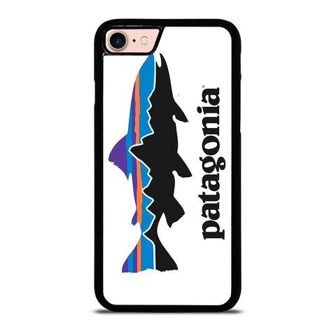 PATAGONIA FISHING BUILT LOGO-iphone-8-case-cover