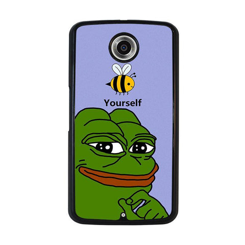 PEPE-THE-SMUG-FROG-nexus-6-case-cover