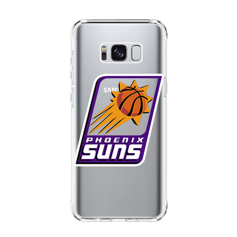 PHOENIX SUNS Samsung Galaxy S5 S6 Edge S7 S8 S9 S10 Plus S10e Transparent Clear Case Cover