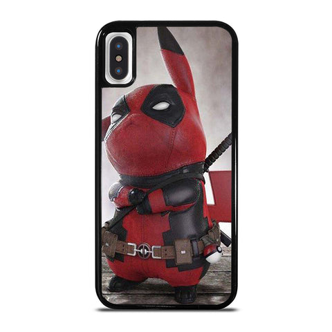 PIKACHU POKEMON DEADPOOL iPhone X / XS Case - Best Custom Phone Cover Cool Personalized Design
