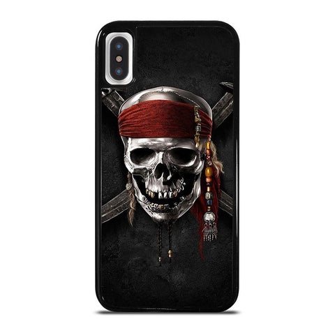 PIRATES OF THE CARIBBEAN SKULL-iphone-x-case-cover