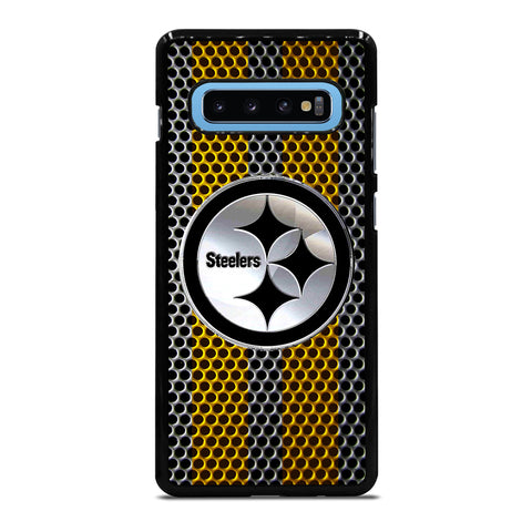 PITTSBURGH STEELERS EMBLEM Samsung Galaxy S4 S5 S6 S7 S8 S9 S10 S10e Edge Plus Note 4 5 8 9 Case Cover